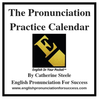 The Pronunciation Practice Calendar